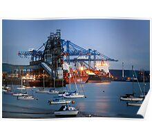 Tilbury Docks Imports Poster