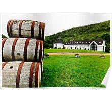 Glenora Distillery Nova Scotia Poster