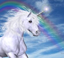 Over the Rainbow .. A Unicorn Tale by LoneAngel