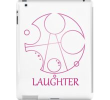 My Little Timelord - Laughter iPad Case/Skin
