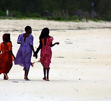Beach Combers in Colour by digsy