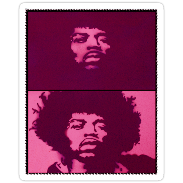 JIMI - RED HAZE by SOL  SKETCHES™