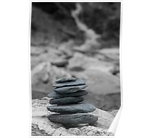 The art of zen-pure and simple statement Poster