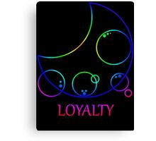 My Little Timelord - Loyalty Canvas Print
