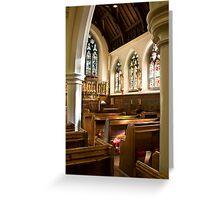 St. James's, Weybridge Greeting Card