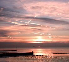 Sunset at Minnis Bay by David Workman