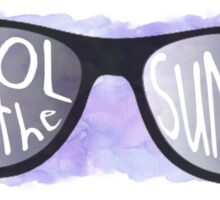 Cool for the Summer - Watercolor Sticker