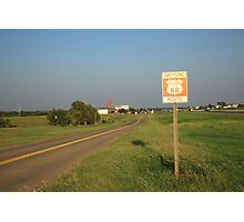 Route 66 - Oklahoma Photographic Print