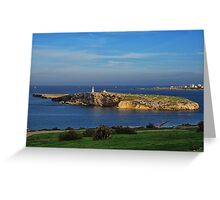 St Paul's Islet Greeting Card