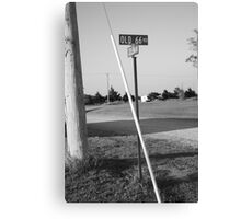 Route 66 - Oklahoma Canvas Print