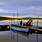 SUNRISE ON TUPPER LAKE by MIKESANDY
