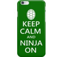 Ninja On iPhone Case/Skin