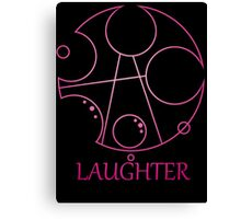 My Little Timelord - Laughter Canvas Print