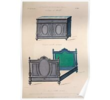 Le Garde Meuble Desire Guilmard 1839 0037 High Style Case Furniture Interior Design Poster