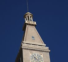 Denver - Historic D & F Clocktower by Frank Romeo