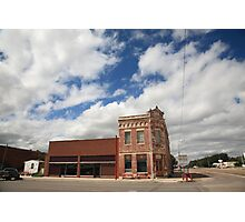 Erick, OK - Sheb Wooley Avenue Photographic Print