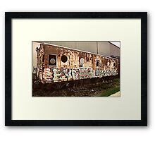 train kept a rollin Framed Print