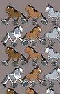 Parade of Standardbreds by Diana-Lee Saville
