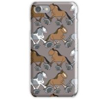 Parade of Standardbreds iPhone Case/Skin