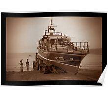 Scarborough Lifeboat Poster