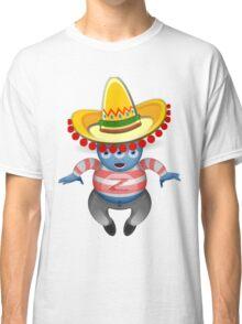 Mexican Alien Sombrero Classic T-Shirt