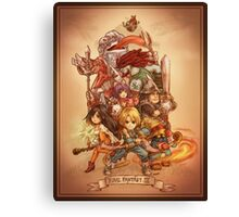 FFIX - Tribute Canvas Print