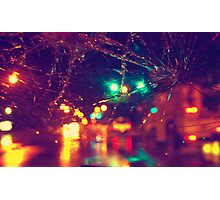 Retro Lights Photographic Print