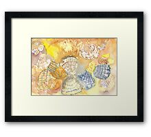 Sally Sells Sea Shells by the Seashore Framed Print