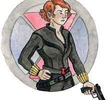 Black Widow by redgoldsparks