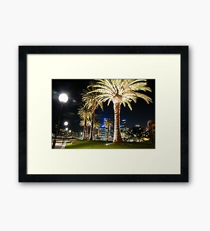 it's sydney! Framed Print