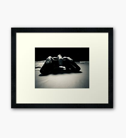 Control The Abstract Framed Print