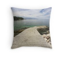 No Boat Throw Pillow