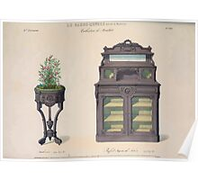 Le Garde Meuble Desire Guilmard 1839 0303 High Style Case Furniture Interior Design Poster