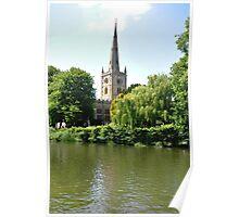 Holy Trinity Church, Stratford-upon-Avon Poster