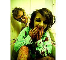 Laughin' Like Lunatics Photographic Print