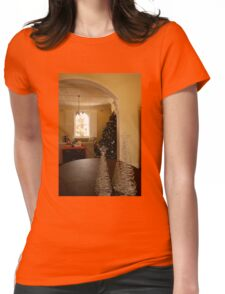 home for christmas Womens Fitted T-Shirt