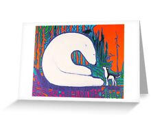 Moon Bear Greeting Card