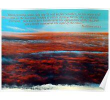 Matthew 15 2-3 Poster