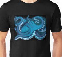 Blue Octopus  Unisex T-Shirt