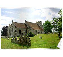 St George's Church, Arreton Poster