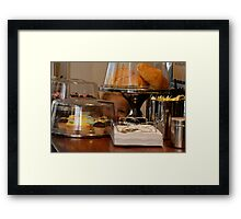 something special i spied at the cafe! Framed Print