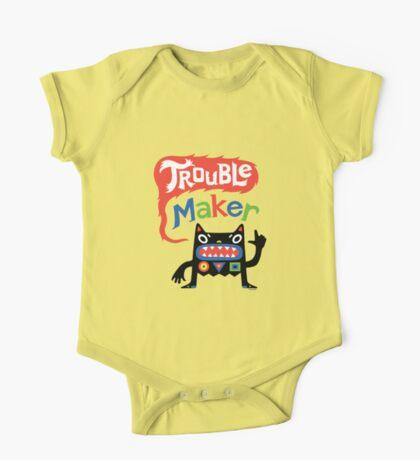 Trouble Maker V - black monster Kids Clothes