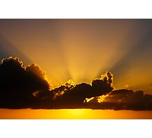 Sun Ray Photographic Print