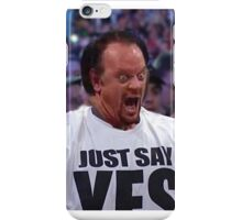 Shocked Undertaker Guy WrestleMania 30 Streak Broken - Himself, Funny Face Swap, SummerSlam 2015 iPhone Case/Skin