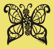 Steampunk Butterfly Kids Clothes