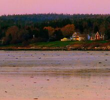 Nightfall Over Penobscot, Maine ~ The Way Life Should Be by Patty Gross