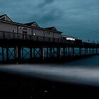 Teignmouth Pier at dusk by Rob Hawkins