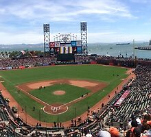 AT&T Park SF Giants Panorama by roguefaerie