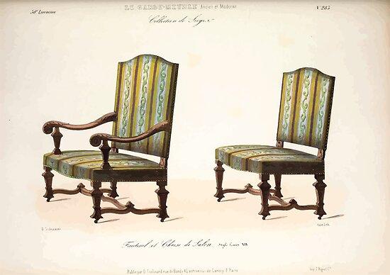 Le garde meuble desire guilmard 1839 0173 high style seat for Le garde meuble