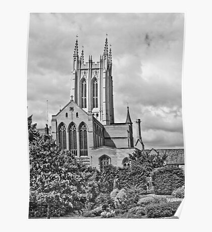 St Edmundsbury Cathedral Poster